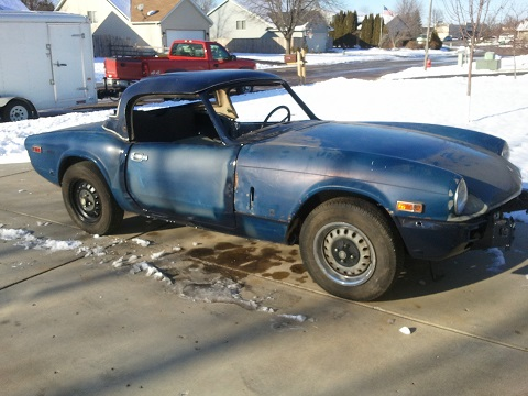 The 1974 Spitfire That Followed Me Home
